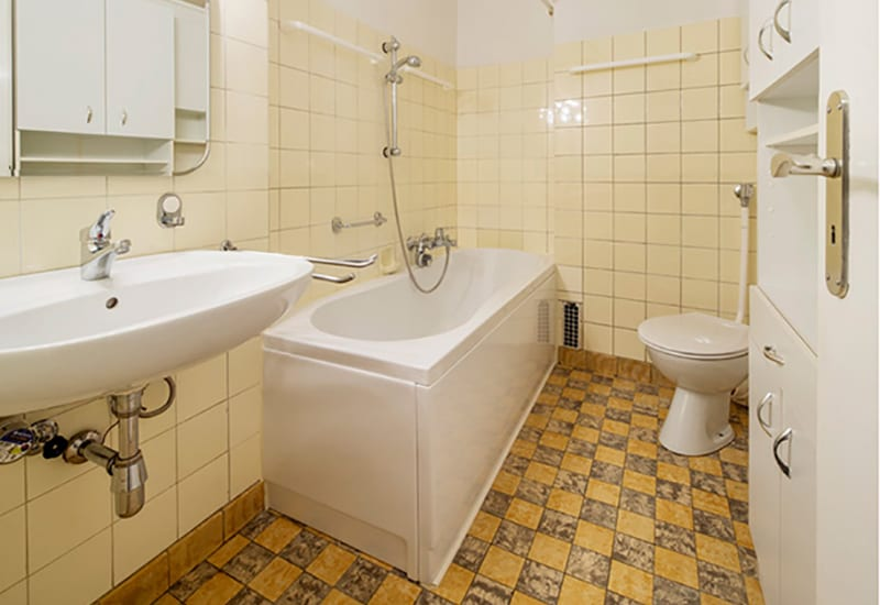 Modernisierung Altes Badezimmer